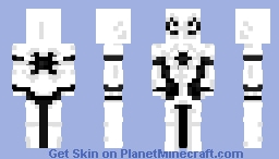white spidey Minecraft Skin