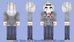 Shimoneta - Anna Nishikinomiya Minecraft Skin