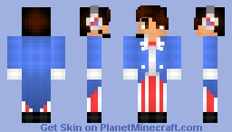 ❆𝓝𝓲𝓷𝓳𝓪𝓖𝓲𝓻𝓵2024❆ DrRedSkull 4th of July (Requested) Minecraft