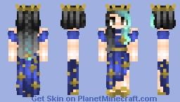 Star Queen | Jadeite Minecraft Skin