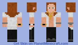 Axl Rose - Guns N' Roses (Rock In Rio 3) Minecraft Skin
