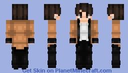V (Kim Taehyung) - BTS - Singularity Minecraft Skin
