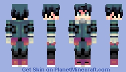~• Izuku Midoriya •~ Minecraft Skin