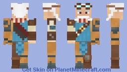 Dorian Walker [Wildstar] Minecraft Skin
