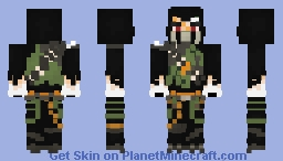 Muzzle - Dragon Keeper Minecraft Skin