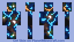 Enders_Host_Neon_Skin Minecraft Skin