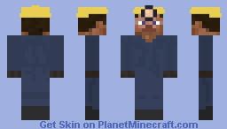 Jumpsuit Miner Steve Minecraft Skin