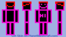 Bob The Neon Light Man Minecraft Skin