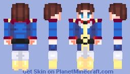 """Amuro, let's do it!"" || Mobile Suit Gundam 0079 || Amuro Ray (アムロ・レイ) Minecraft Skin"