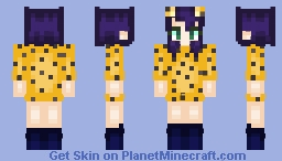 Noodle phase 4 (strobelite) Minecraft Skin