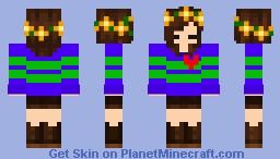MythTale Frisk (AU by Chara811) Minecraft Skin