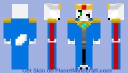 King Adult MythTale Asriel (AU by Chara811) Minecraft Skin