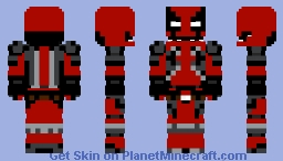Animatronic Deadpool Minecraft