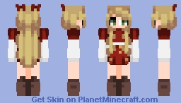 ~«Fridæ - White Light Fades To Red~ Minecraft Skin