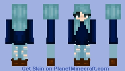 【☆】★【☆】Mint Hair 【☆】★【☆】 Minecraft Skin