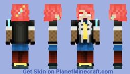 Phila - Neon Lights Minecraft Skin