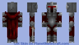 Red warrior  (request) Minecraft Skin