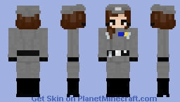 Star Wars | Imperial Navy Commander Minecraft