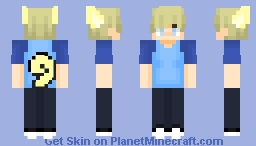 Garroth Ro'meave//When Angels Fall Minecraft Skin