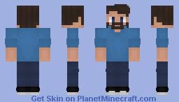 Steve (My Version) Minecraft Skin