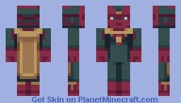 Vision [Infinity War] Minecraft Skin