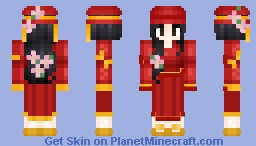 Qui Hong (Mulan 2 Disney Guest) Young Ages 34 Minecraft Skin