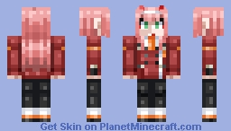 DARLING in the FRANXX - 002 Minecraft Skin