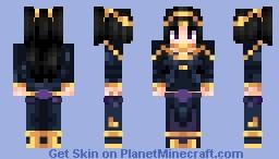 Tharja - Fire Emblem Heroes - Bridal Bloom Minecraft Skin