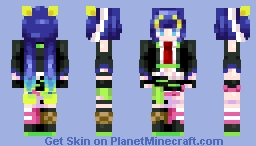 [Kari] Hate it! Hate it! Huge Ego! Minecraft Skin