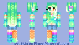 Neon? ♪//Jadeite Minecraft Skin