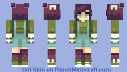 Green apples Minecraft Skin