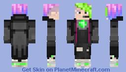 Agent Rainbow Minecraft Skin