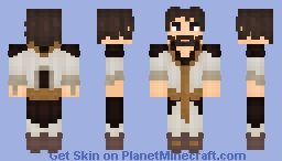 Ardent Sword Trainer Minecraft Skin