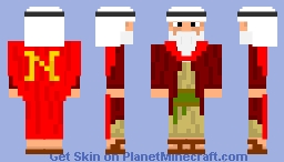 NOAH'S CAPE FROM REALITY! Minecraft Skin