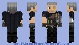Deadpool 2 Cable Minecraft Skin