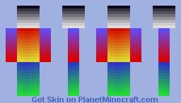DarkPixa: Colour Rainbow Minecraft Skin