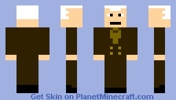 Derek Powers (DC) Minecraft Skin