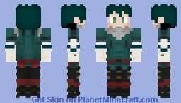 Izuku Midoriya | Deku | My Hero Academia | Custom 3 Minecraft