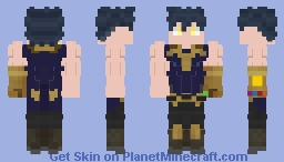 Marvel OC Minecraft Skin