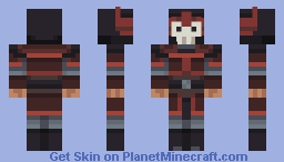 Fire Nation Soldier [The Last Airbender] Minecraft Skin