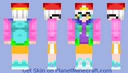 human fresh sans  Minecraft Skin