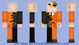 The Warden and The Guest (Minecraft Story Mode) Minecraft Skin