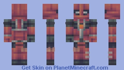 Deadpool || Marvel Minecraft Skin