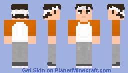 Daniel Larusso Minecraft Skin