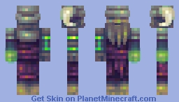 Key of timepieces Minecraft Skin
