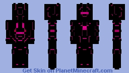Lumina - Power Armor Minecraft Skin