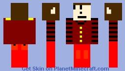 gardien d'hotel Minecraft Skin