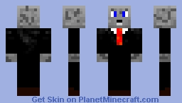 Just Your Average Wolf Businessman Minecraft Skin