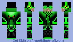 Neonový skin Minecraft