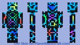 N.E.O.N Minecraft Skin
